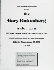 The Gary Ruttenberg Sale of United States Half Cents and Large Cents, Part II