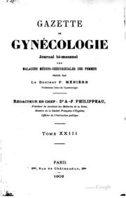 Gazette de gynécologie