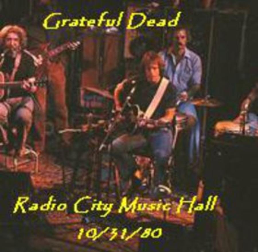 Grateful Dead Live at Radio City Music Hall on 1980-10-31