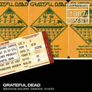 Grateful Dead Live At Madison Square Garden On 1987 09 19 Free Streaming Internet Archive