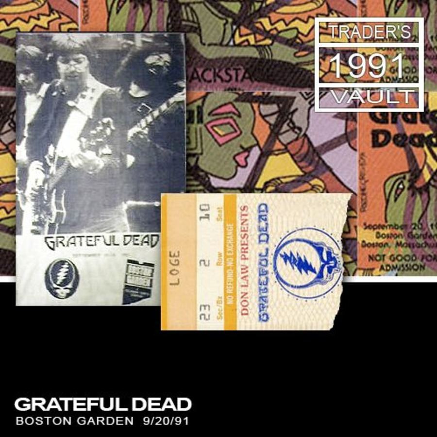 grateful dead live at boston garden on 1991 09 20 free borrow streaming internet archive. Black Bedroom Furniture Sets. Home Design Ideas