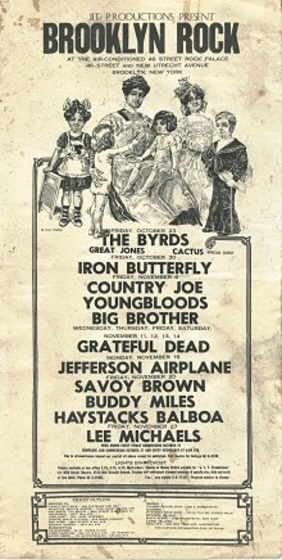 Grateful Dead Live at 46th Street Rock Palace on 1970-11-11 : Free