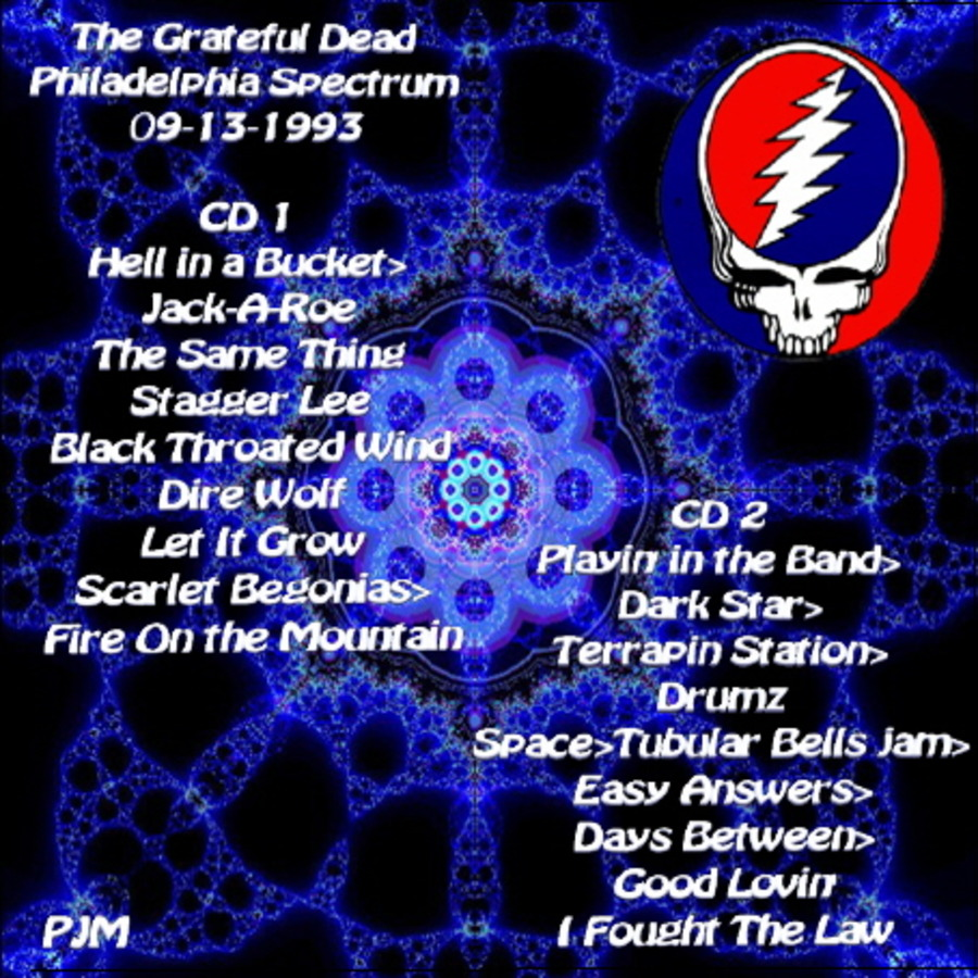 grateful dead live at the spectrum on 1993 09 13 free borrow streaming internet archive. Black Bedroom Furniture Sets. Home Design Ideas