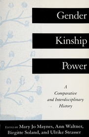 Gender, kinship, power : a comparative and interdisciplinary