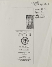 Gene Braig Correspondence, 1980 to 2001