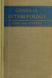 General anthropology