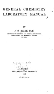 Laboratory manual for chemistry an experimental science general chemistry laboratory manual fandeluxe Images