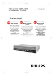 philips dvp3050v dvd vcr combo user manual philips free download rh archive org Owner's Manual Instruction Manual Example