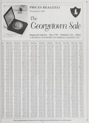 The Georgetown Sale