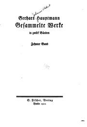 Gesammelte Werke in zwölf Bänden