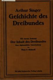 Geschichte des Dreibundes: Mit einem Anhang: Der Inhalt des Dreibundes, eine ...