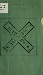Gettysburg ..