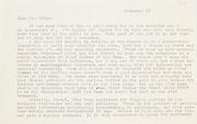 Gibbs Correspondence: 1967, Burdick Correspondence