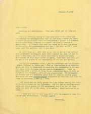 Gibbs Correspondence: 1952
