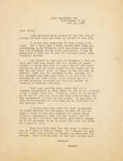 Gibbs Correspondence: 1956