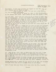 Gibbs Correspondence: 1961