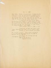 Gibbs Correspondence: 1962