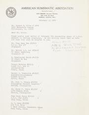 Gibbs Correspondence: 1964