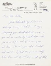 Gibbs Correspondence: 1966