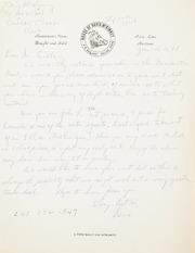 Gibbs Correspondence: 1968