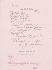 Gibbs Correspondence: 1973