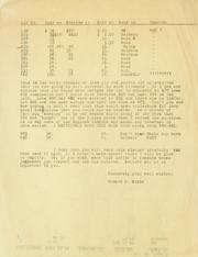 Gibbs Correspondence: No Date