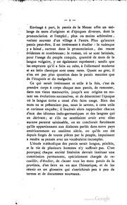 Glossaire abrégé du patois de la Meuse, notamment de celui des Vouthons