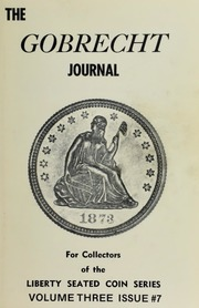 Gobrecht Journal #7