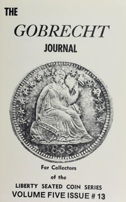 Gobrecht Journal #13