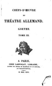 Vol 3: Goethe