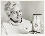 Photo: Gold Oban Held By Helen Unitas Gibbs