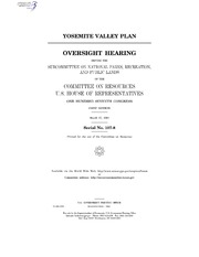 YOSEMITE VALLEY PLAN
