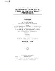 the functions of the financial stability oversight council The right of public access is a fundamental element of the rule of law, important to  maintaining the integrity and legitimacy of an independent judicial branch.