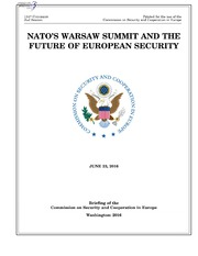 NATOS WARSAW SUMMIT AND THE FUTURE OF EUROPEAN SECURITY