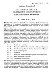 IS 2386-4: Methods of test for aggregates for concrete, Part 4: Mechanical  properties : Bureau of Indian Standards : Free Download, Borrow, and  Streaming : Internet Archive