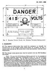 IS 2551: Danger notice plates : Bureau of Indian Standards