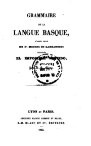 Grammaire de la langue basque