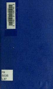 Grammaire de la langue basque, d-après du Manuel de Larramendi intitulée El imposible vencido; par S.H. Blanc