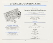 The Grand Central Sale