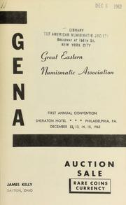 Great eastern numismatic association ... [12/12-15/1963]