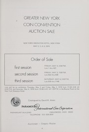 Greater New York Convention Auction Sale (1974)