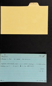 Garrett Family Papers - Greece: Bruttium [ANS Garrett papers, box 12, card indexes]