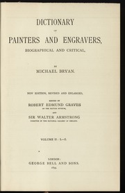 Dictionary of painters and engravers, 2