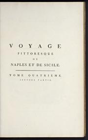 Vol 4A2: Voyage pittoresque, ou, Description des royaumes de Naples et de Sicile