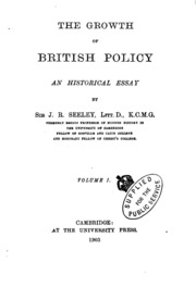 essay on the military policy and institutions of the british  vol 1 the growth of british policy an historical essay