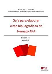 Guía Para Elaborar Citas Bibliográficas En Formato Apa