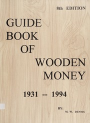 Guide Book of Wooden Money