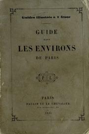 Guide dans les environs de Paris