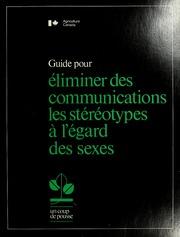 Guide pour éliminer des communications les stéréotypes à l-égard des sexes