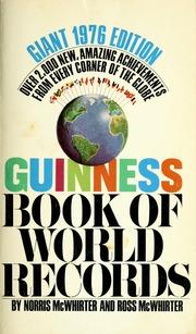 guinness book of world records 1975 mcwhirter norris 1925